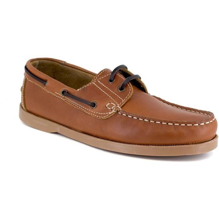 J.BRADFORD JB-CANOA Cognac Chaussure Homme