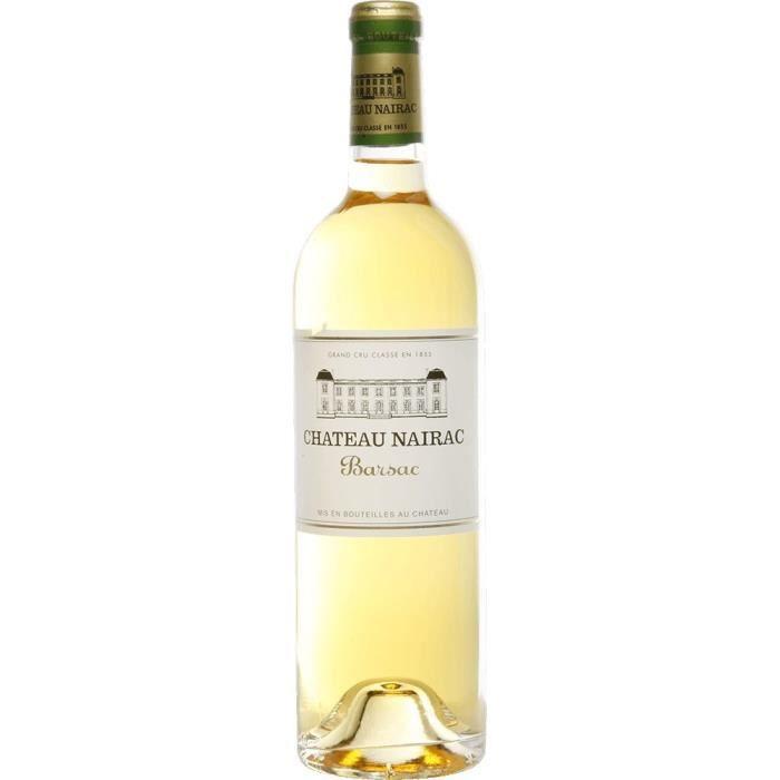 Château Nairac 2004 Barsac Grand Cru Classé - Vin blanc de Bordeaux