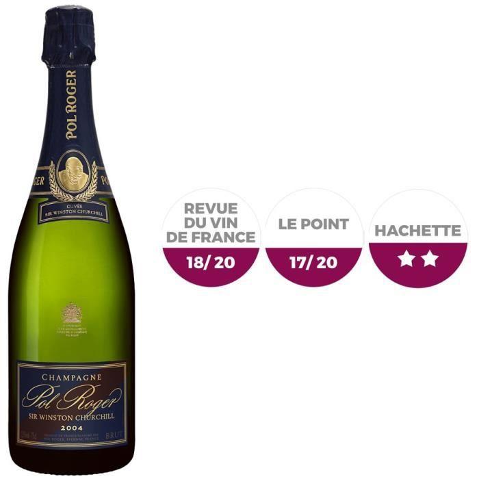 Champagne Pol Roger Wintson Churchill Millésimé 2004 Brut - 75 cl