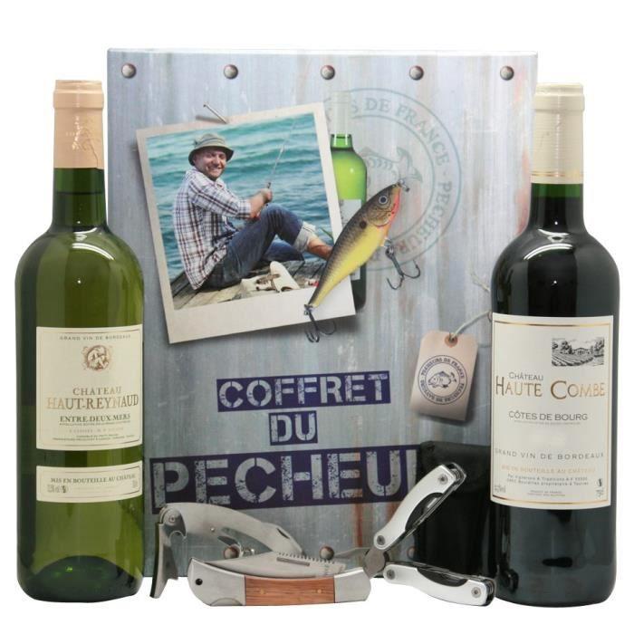Coffret du Pêcheur vin et accessoires