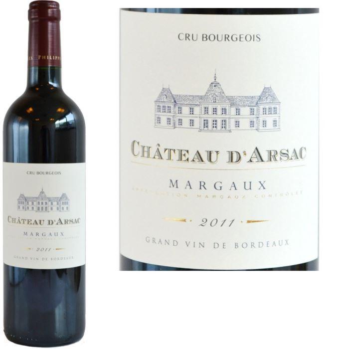 Château d'Arsac 2011 Margaux - Vin Rouge de Bordeaux