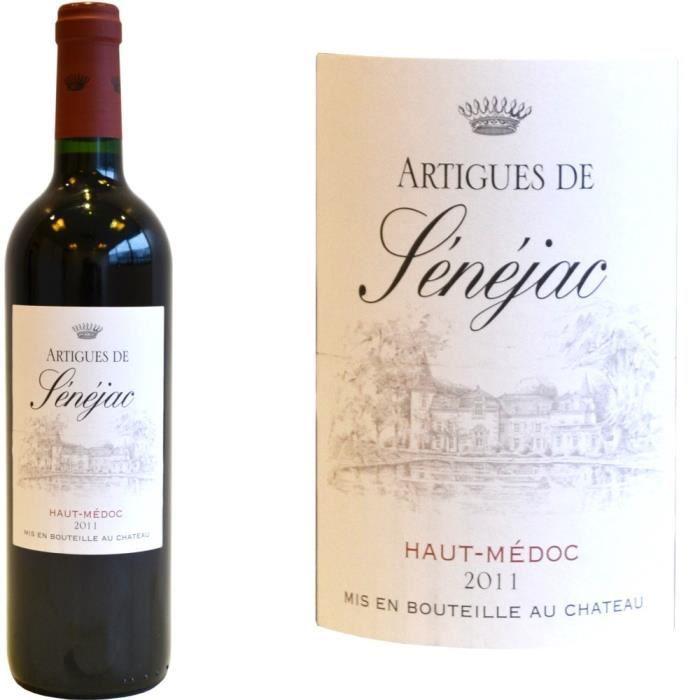 Artigues de Sénejac rouge 2011 Haut Médoc - Vin rouge de Bordeaux
