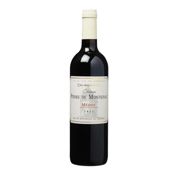 Château Pierre de Montignac 2011 Médoc - Vin rouge de Bordeaux