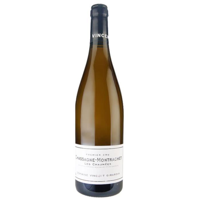 Domaine Vincent Girardin -Les Chaumées- 2011 Chassagne-Montrachet 1er cru - Vin Blanc de Bourgogne