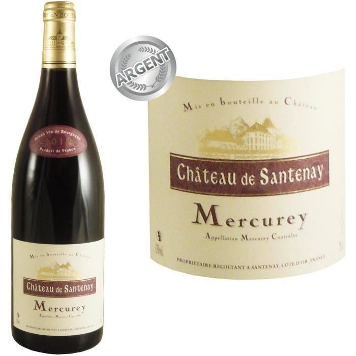 Château de Santenay 2012 Mercurey - Vin rouge de Bourgogne