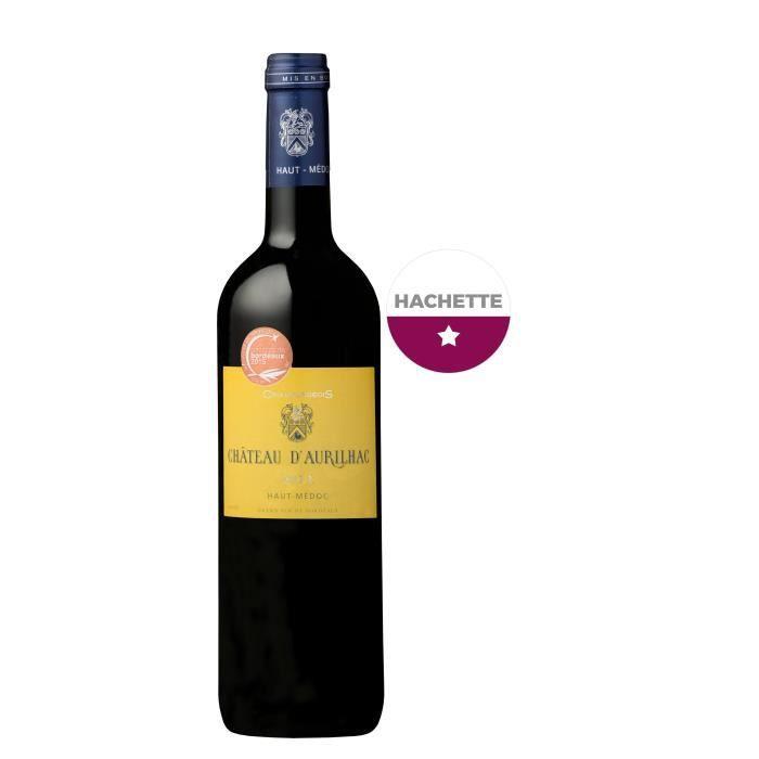 Château D'aurilhac 2012 Haut-Médoc - Vin rouge de Bordeaux
