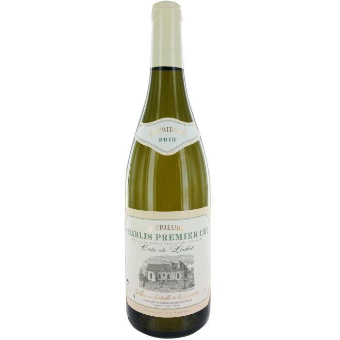 La Chablisienne Côte de Lechet Le Prieuré 2013 Chablis - Vin blanc de Bourgogne