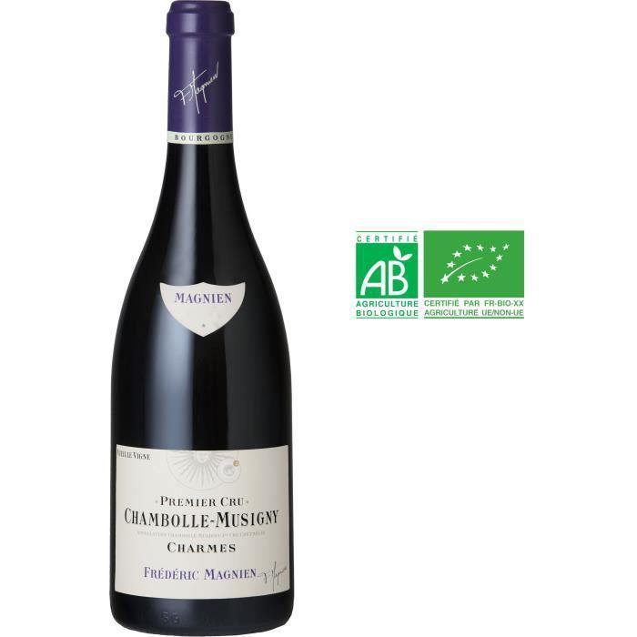 Frédéric Magnien Charmes 2013 Chambolle-Musigny Premier Cru Vieilles Vignes - Vin rouge de Bourgogne - Bio