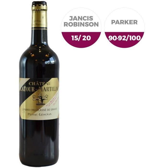 Latour Martillac 2013 Pessac Léognan - Vin rouge de Bordeaux