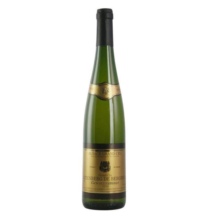 Gustave Lorentz 2013 Gewurztraminer - Vin blanc d'Alsace - Bio