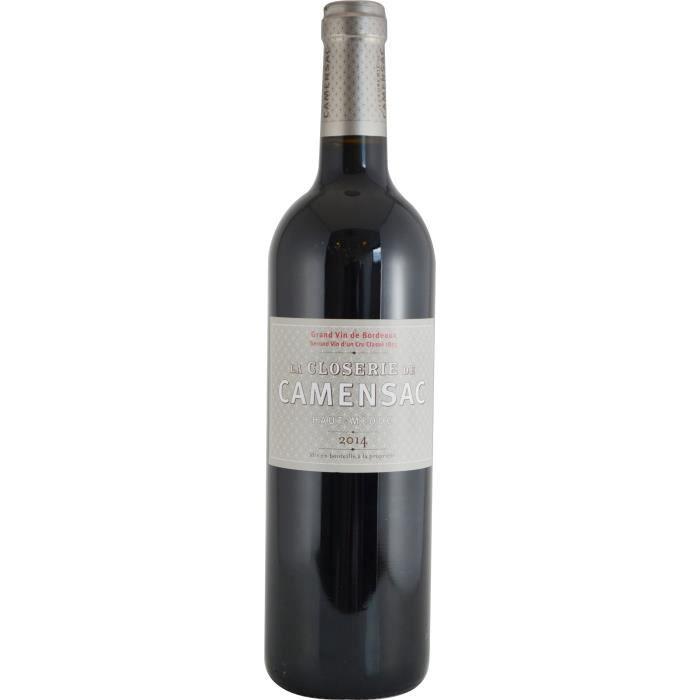 Closerie De Camensac 2014 Haut-Médoc Grand Cru - Vin rouge de Bordeaux