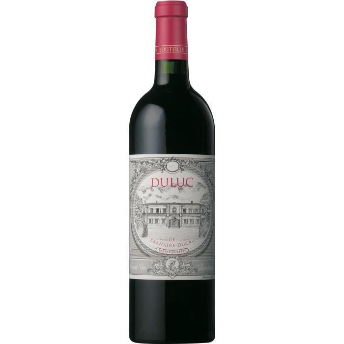 Duluc de Branaire-Ducru 2014 Saint-Julien - Vin rouge de Bordeaux