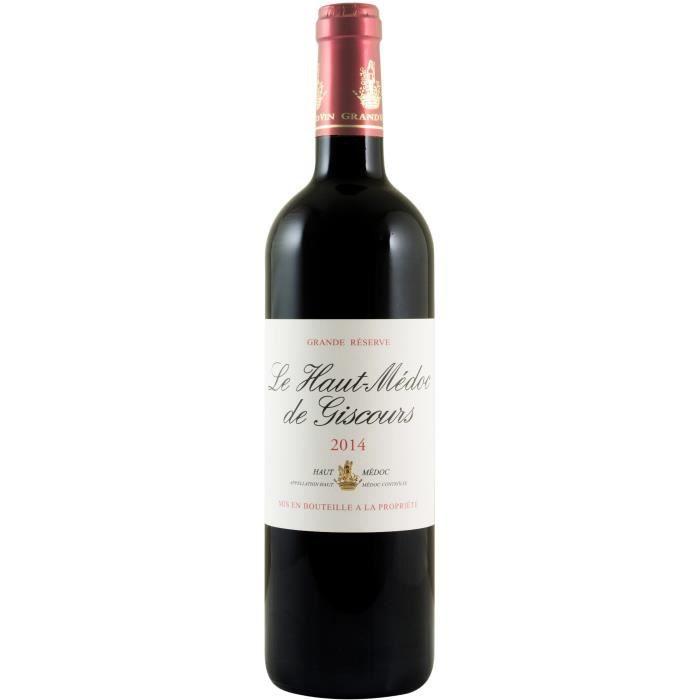 Le Haut Médoc de Giscours 2014 Haut Médoc - Vin rouge de Bordeaux