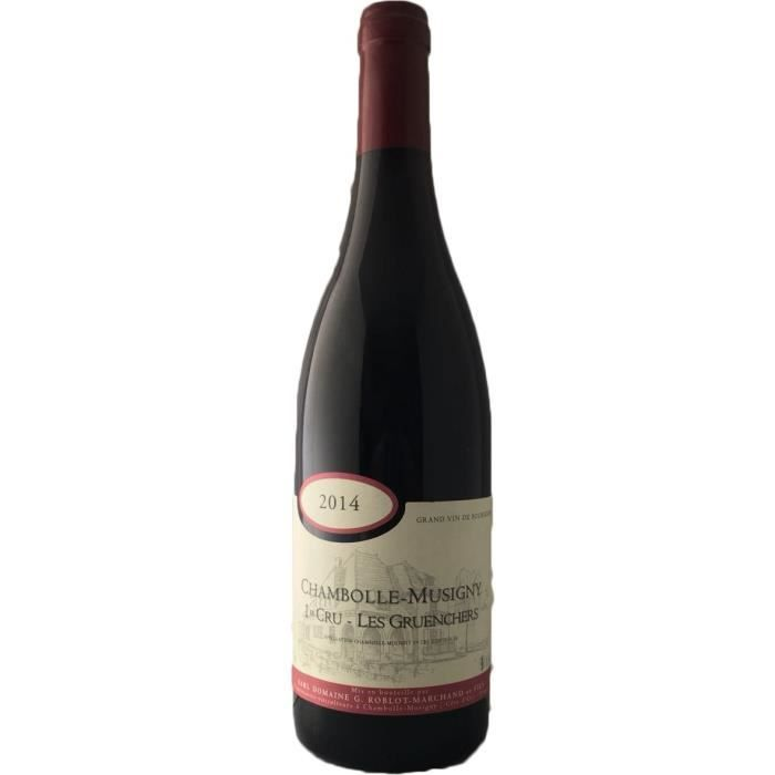 Domaine Roblot-Marchand Les Gruenchers 2014 Chambolle-Musigny - Vin rouge de Bourgogne