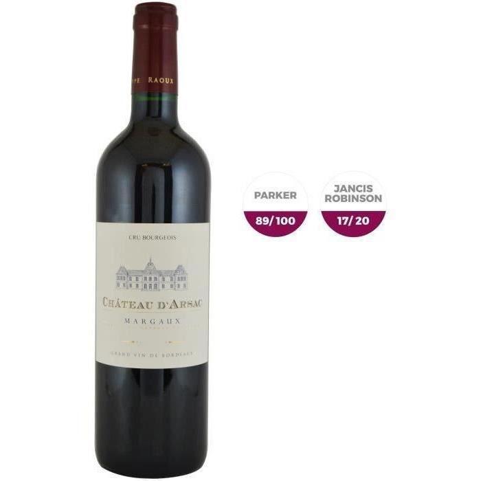 Château D'Arsac 2015 Margaux - Vin rouge de Bordeaux