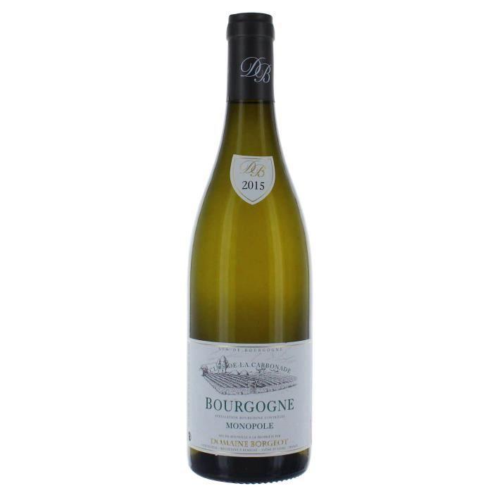 Domaine Borgeot Clos de la Carbonade 2015 Bourgogne - Vin blanc de Bourgogne
