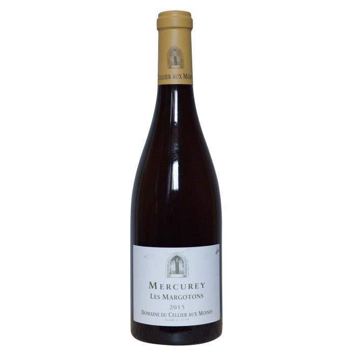Domaine du Cellier aux Moines 2015 Mercurey Les Margotons - Vin blanc de Bourgogne