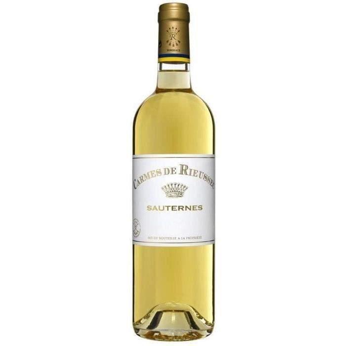 Carmes De Rieussec 2015 Sauternes - Vin blanc du Sud Ouest