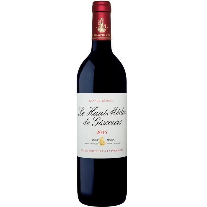 Le Haut-Médoc de Giscours 2015 Haut-Médoc - Vin rouge de Bordeaux