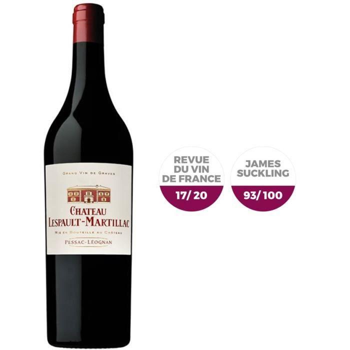 Château Lespault-Martillac 2015 Pessac-Léognan - Vin rouge de Graves