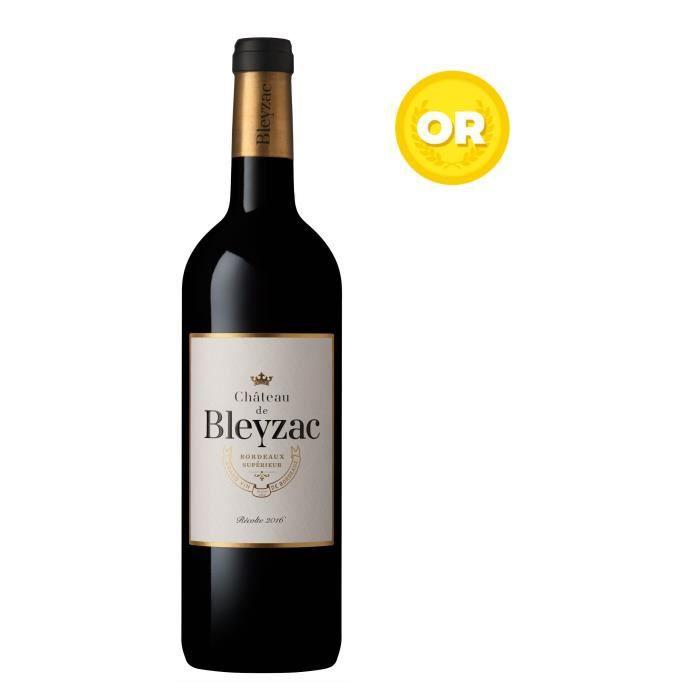 Château de Bleyzac 2016 Bordeaux Supérieur - Vin rouge de Bordeaux