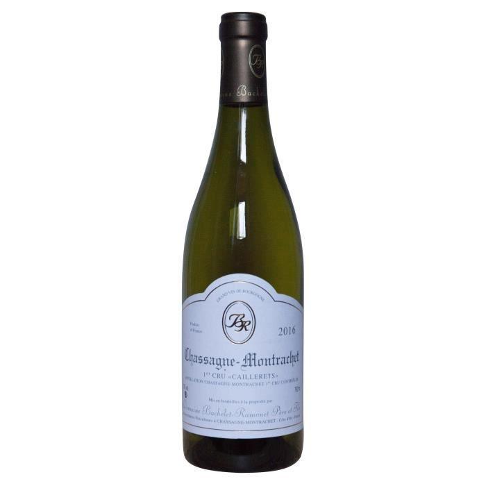 Bachelet-Ramonet 2016 Chassagne-Montrachet Premier Cru Caillerets - Vin blanc de Bourgogne