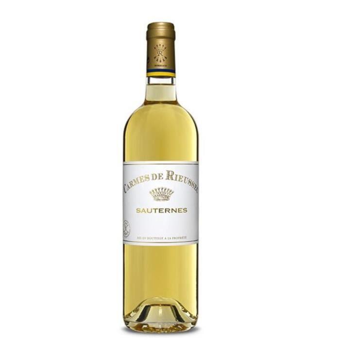 LES CARMES DE RIEUSSEC 2016 Second Vin Sauternes et Barsac - Vin Blanc du Bordelais