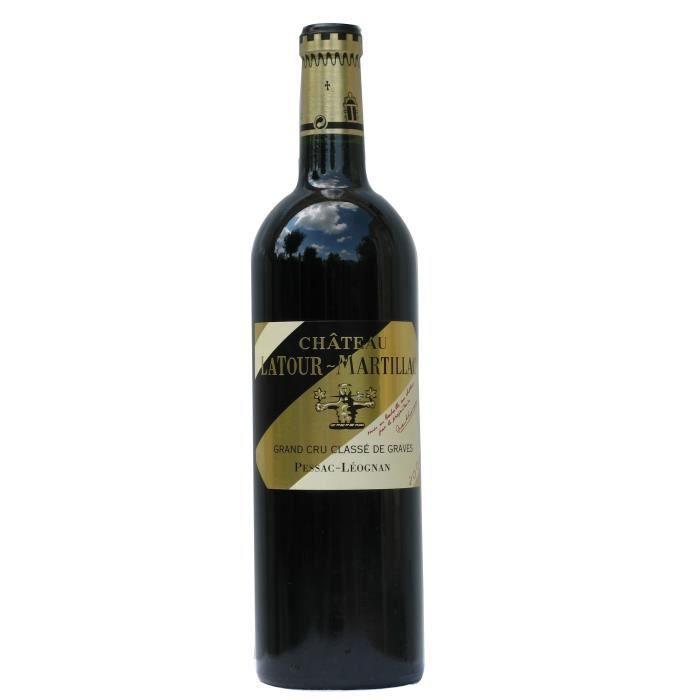 Château LATOUR MARTILLAC 2016 Cru Classé Pessac Léognan - Vin Rouge du Bordelais