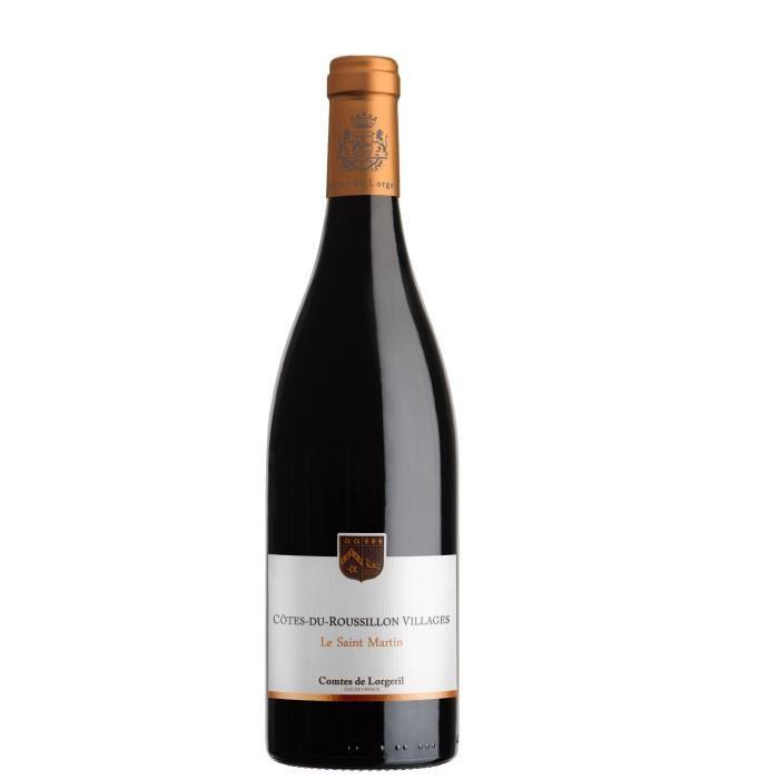 Le Saint Martin Grande Cuvée 2016 Côtes du Roussillon Villages - Vin rouge du Languedoc Roussillon