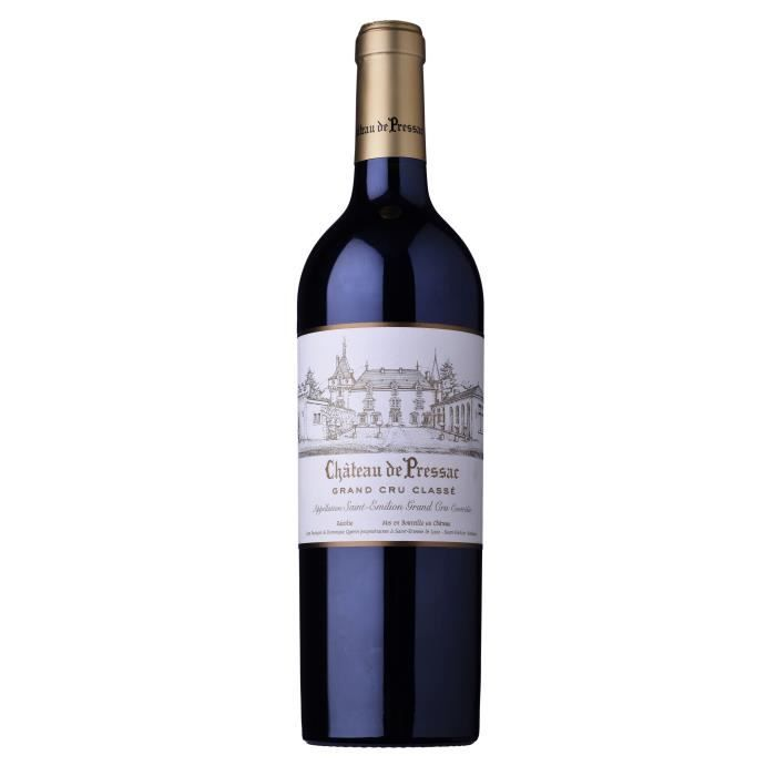 Château de Pressac 2014 Saint-Emilion Grand Cru - Vin rouge de Bordeaux