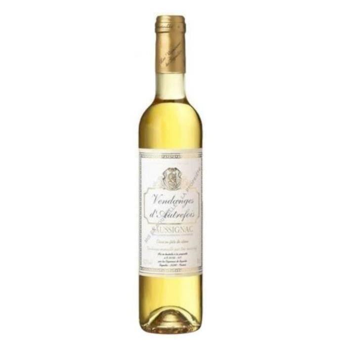 Vendanges d'Autrefois 2016 Saussignac - Vin blanc du Sud Ouest - 50 cl