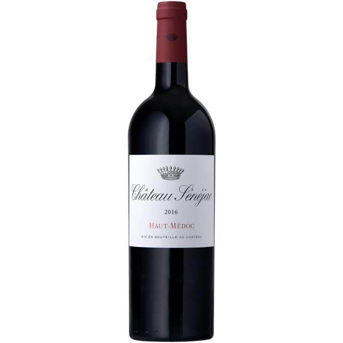 Château Sénéjac 2018 Haut-Médoc - Vin rouge de Bordeaux