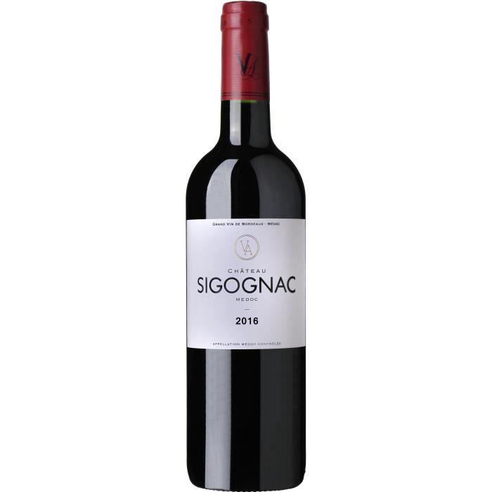 Château Sigognac 2016 Médoc - Vin rouge de Bordeaux