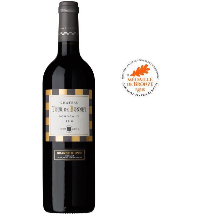 Château Tour de Bonnet Grande Cuvée 2016 Bordeaux - Vin rouge de Bordeaux