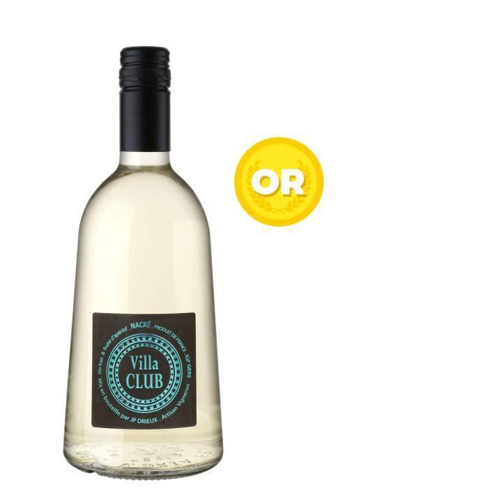 Domaine Villa Dria 2016 Villa Club Doré - Vin blanc des Côtes de Gascogne