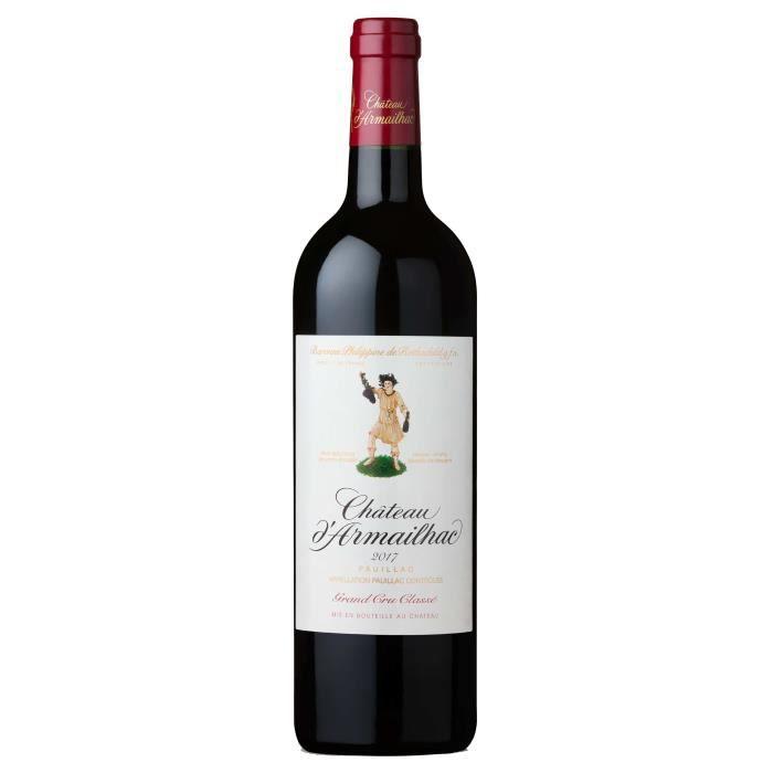Château D'Armailhac 2017 Pauillac Grand Cru Classé - Vin rouge de Bordeaux