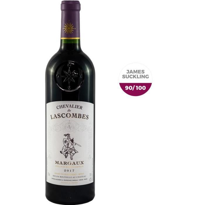 Chevalier de Lascombes 2017 Margaux - Vin rouge de Bordeaux