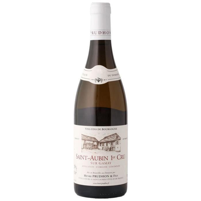 Domaine prudhon 2017 Saint Aubin - Vin blanc de Bourgogne
