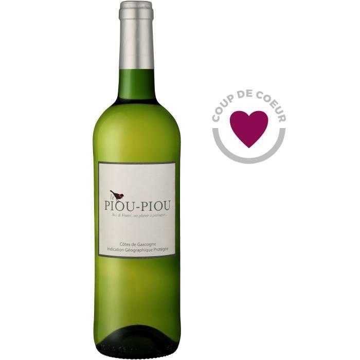 Piou Piou des Vignes Côtes de Gascogne - Vin blanc sec