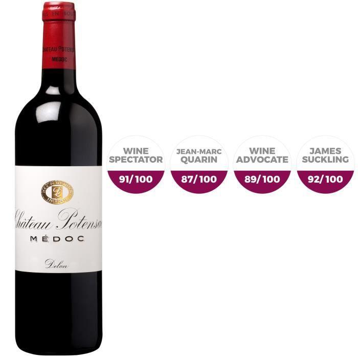 Château Potensac 2017 Médoc Grand Cru - Vin rouge de Bordeaux
