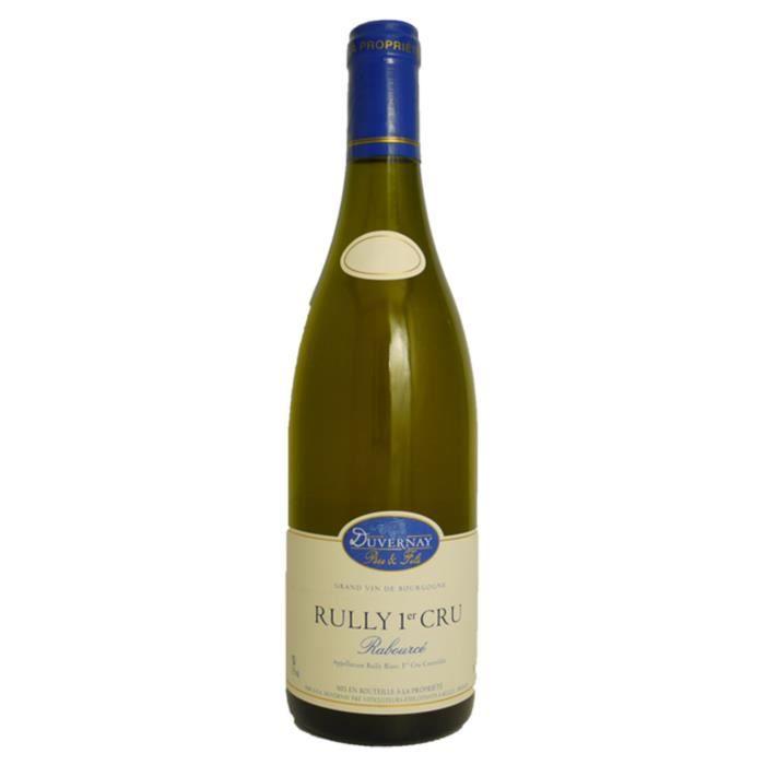 Domaine Duvernay Rabourcé 2018 Rully 1er Cru - Vin blanc de Bourgogne