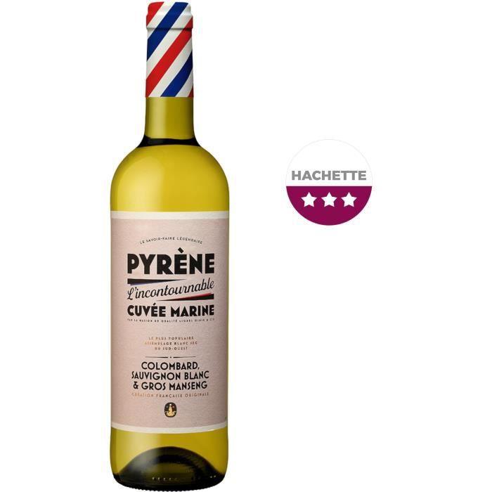 Pyrène Cuvée Marine 2018 Côtes de Gascogne - Vin blanc de Sud-Ouest