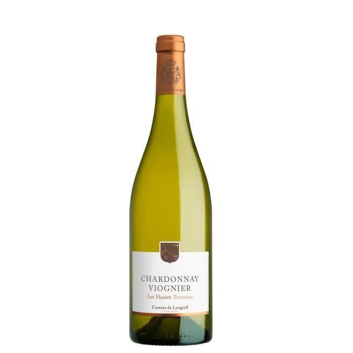Les Hautes Terrasses 2019 IGP Pays d'Oc Chardonnay - Vin blanc du Languedoc Roussillon