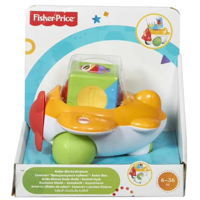 FISHER-PRICE Bloc véhicule avion