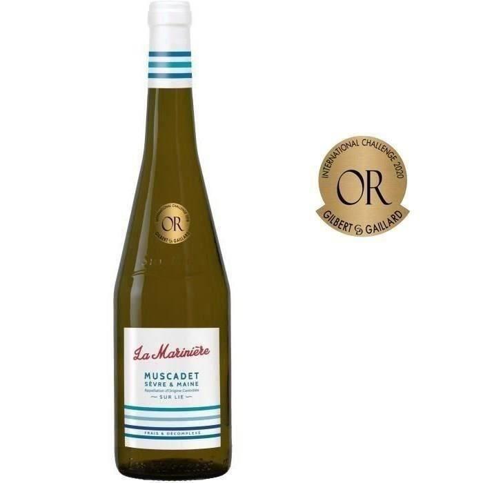 La Marinière 2019 Muscadet Sèvre et Maine - Vin blanc de la Val de Loire