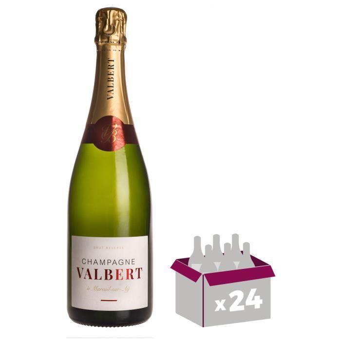 Champagne Valbert Brut - Brut Réserve x24