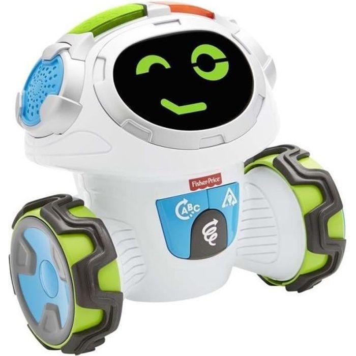 FISHER-PRICE - Mouvi Le Robot - Jouet Intéractif pour enfant - 3 ans et +