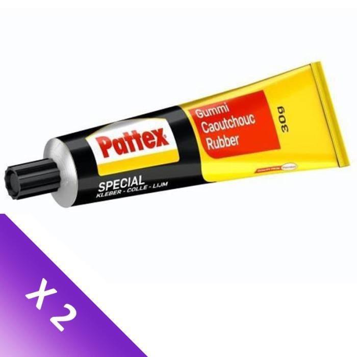 [LOT DE 2] PATTEX Spécialités Caoutchouc - Tube 30 g