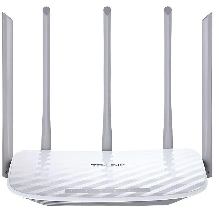 TP-Link Archer C60 Routeur Wi-Fi double bande 1350Mbps avec 5 antennes fixes