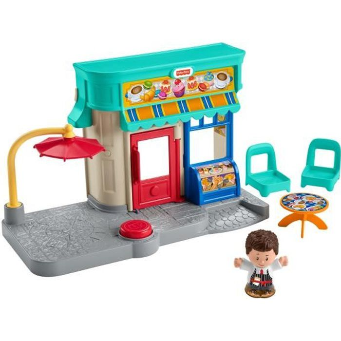 FISHER-PRICE Little People La Boulangerie - de 12 mois à 5 ans